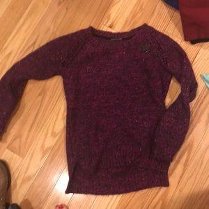 Pinkish purplish sweater